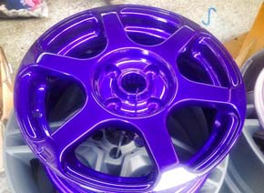 Purple Finishing